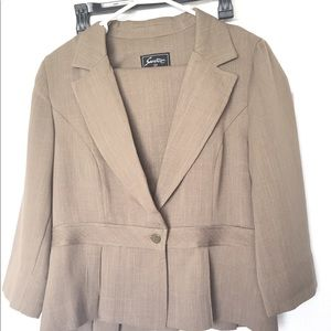 Jackets & Blazers - 2 piece skirt suit with jacket,